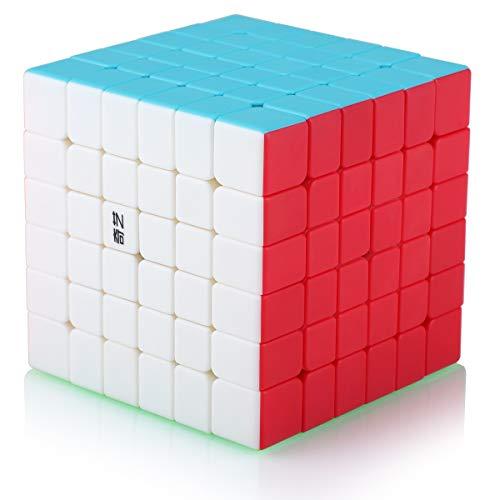 Cubo Magico 6x6 6x6x6 Speed Cube Puzzle Cubo de la Velocidad Niños Juguetes Educativos, Stickerless