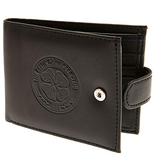 Official Licensed Celtic F.C - Leather Wallet (RFID Anti Fraud)