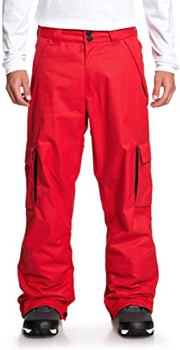 DC Banshee Snowboard Pants Mens Sz M Racing Red