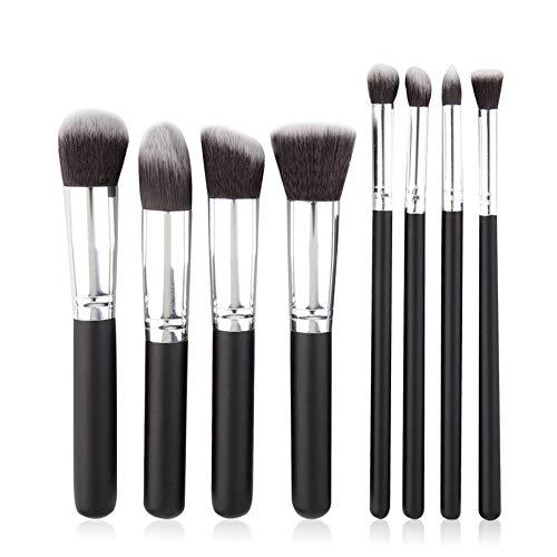 sahnah Soft Synthetic Hair 8Pcs/Set Professional Cosmetics Brush Women Makeup Brushes Set Powder Face Eyes Blush Brushes Beauty Tools