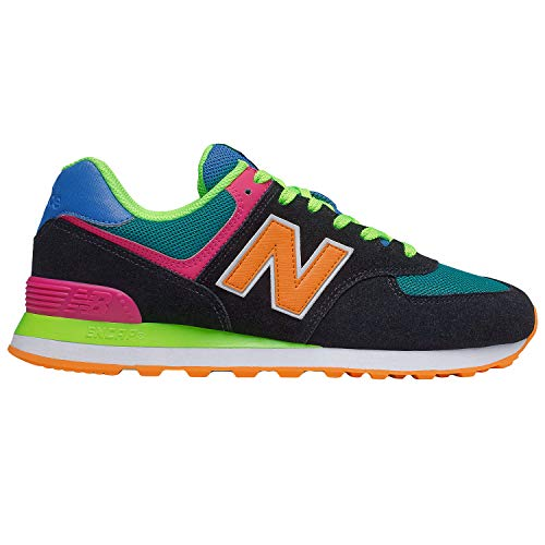 New Balance Herren 574 ML574MA2 Medium Sneaker, Black (Black MA2), 44 EU