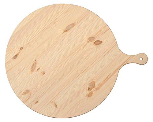 HABI Tagliere Polenta Abete con Manico cm50 Made in Italy Utensili da Cucina, Legno, Marrone