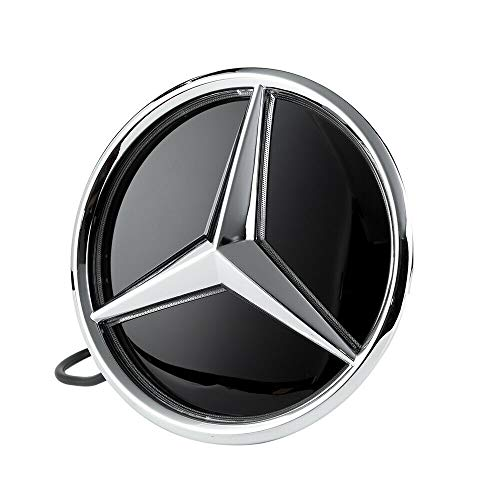 Motorfox Emblem Led Badge Light Car Star White Logo Front Grill Shiny Including easy connectio kit 2011-2020