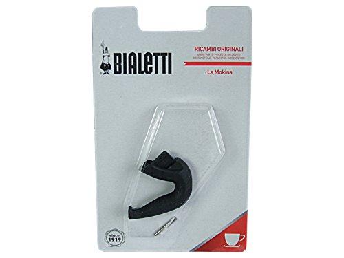 Bialetti 0800200 - Blister 1 Manico Mokina, Plastica, Nero, 5 x 1 x 4 cm