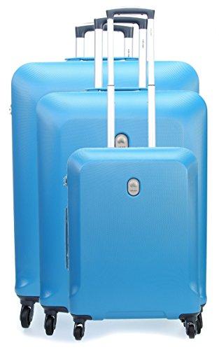Delsey Biela Set Set di valigie blu chiaro