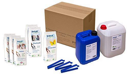 Purux Fünf Hausmittel ersetzen eine Drogerie Bundle Plus