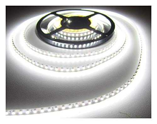 SET 5520 Lumen 10m Led Streifen 1200LED neutralweiß inkl. Netzteil 24V (Pro-Serie) TÜV/GS geprüft