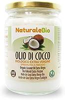 Olio di Cocco Biologico Extra Vergine 500 ml. Crudo e Spremuto a Freddo. 100% Organico, Naturale e Puro. Bio Nativo e...