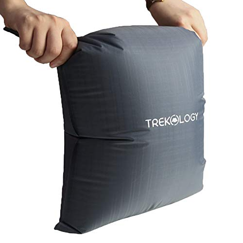 TREKOLOGY 30L Pumpsack Rolltop-Kompressionspumpsack für UL80v2 Schlafmatten, 22mm Düsengröße Pumpsack für Campingmatten, Schlafmatte, Schlafmatratze, aufblasbare Schlafmatten