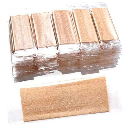 ラインファースト 未晒し 紙おしぼり スパンレース 不織布 185x230cm 200枚 安心の日本国内製造 (無地)