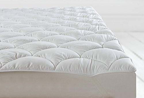 Sweet Dreams Double Bed Orthopaedic Anti Allergy Mattress Topper Quilted Cloud Filled Mattress Protector Hotel Quality