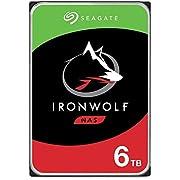 """Seagate Technology - Disco rigido IronWolf NAS da 3,5"""" ST6000VN001 da 6 TB (SATA 6 Gb/s/256 MB/5400 giri/min)"""