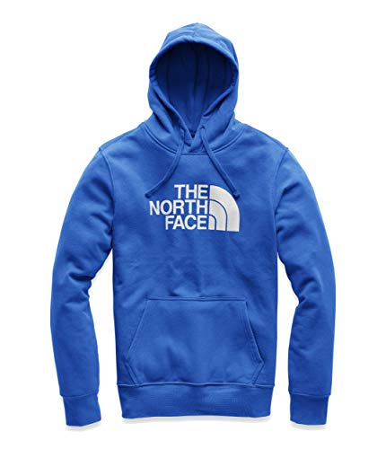 The North Face Men's Half Dome Pullover Hoodie, TNF Blue/TNF White, XL