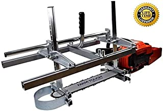Zchoutrade Portable Chainsaw Mill 14-36 Inch Portable Aluminum Steel Mig Welding Saw Mill..