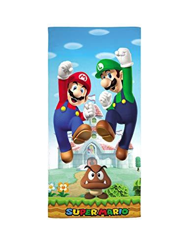 Franco Mfg Co Super Mario & Luigi 28' x 58' Beach Towel