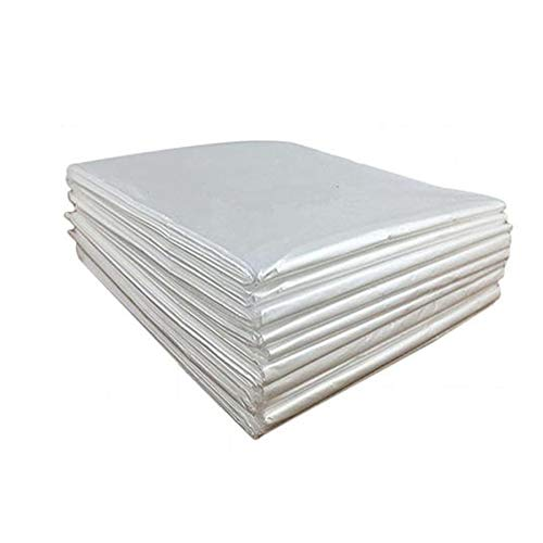 Disposable Sauna Sheeting Blanket Liners for Body Wrap Plastic Bag Covers Inside Far Infrared Sauna Blanket Accessories for Beauty Salon Spa Sauna Room Body Therapy Home Use 50 Pack