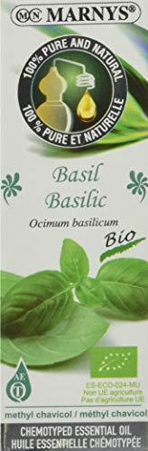 MARNYS Aceite Esencial Albahaca 100% Puro Quimiotipado 15ml