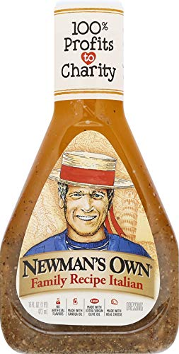 Newman's Own Family Recipe Italian Salad Dressing, 16 oz