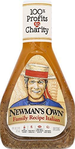 Newman's Own Family Recipe Italian Salad Dressing, 16 oz