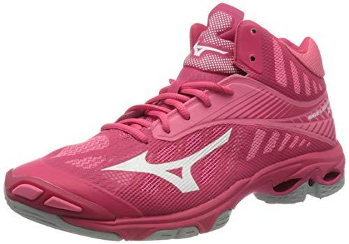Mizuno Women's Low-Top Sneakers, Pink (Azalea/Wht/Camelliarose 001), 5 UK