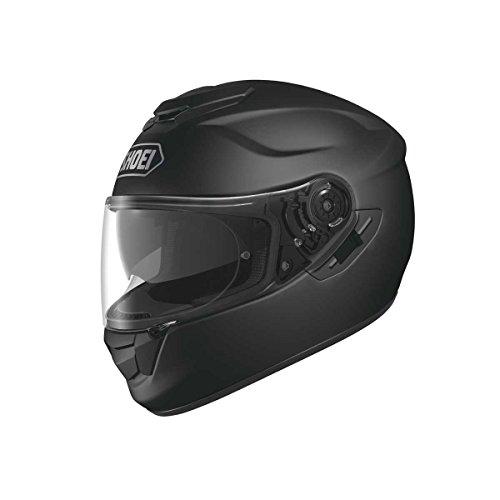 Shoei GT Air, Motorradhelm,  Motorroller- und Touringhelm, Integralhelm,  rot, Schwarz - mattschwarz - Größe: Large