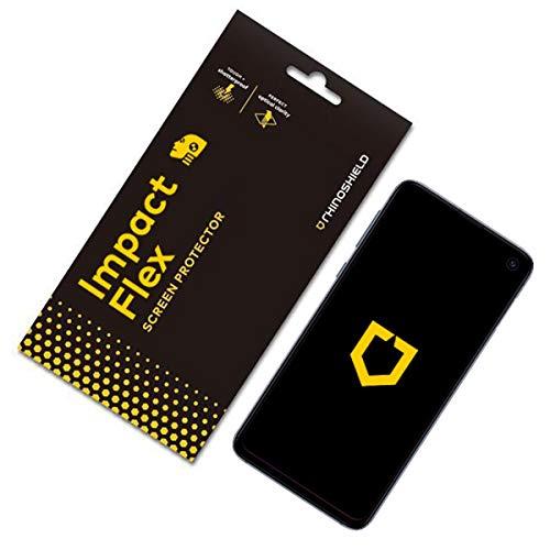 RhinoShield Protection écran Compatible avec Samsung [Galaxy S10e] | Anti-Chocs Flex - Film Protecteur Haute qualité avec Technologie de Dispersion des Chocs - résistance Rayures et Traces de Doigts