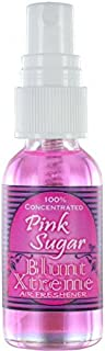 Blunt Xtreme Pink Sugar Type Air Freshener - 100% Ultra Concentrated Oil Based Spray - Ideal for Bathroom, Home, Car, Office & More - Soothing Properties - Long Lasting Effects - 1oz Bottle