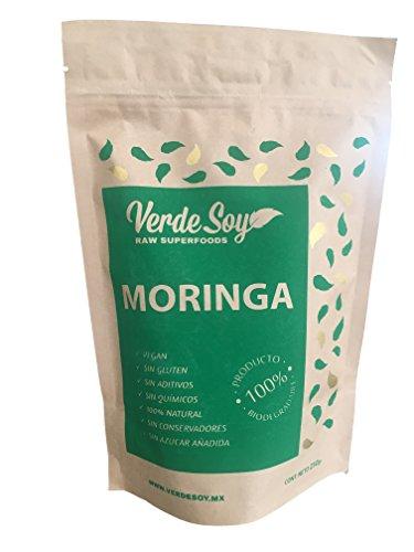 Verde Soy Moringa en Polvo, 250 g