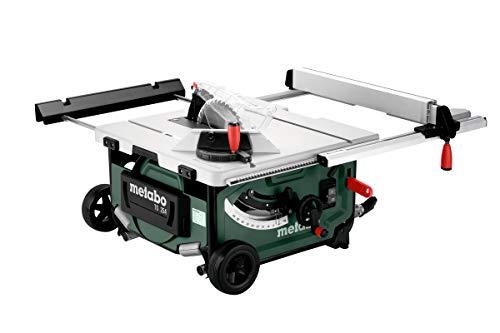 Metabo Tischkreissäge TS 254 / mobile Kreissäge mit Untergestell, Trolleyfunktion und extra starkem 2000 W Motor, Arbeitshöhe 850 / 335 mm - 2