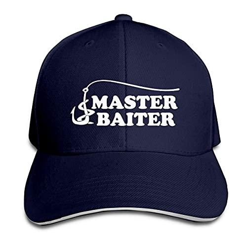 Gorra Deportiva Señuelo De Anzuelo Fishing Master Baiter Hip Hop Sombreros Retro Baseball Cap para Golf Hip Hop Deportes