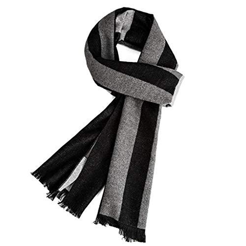 VICSPORT Warm Herbst und Winter Schal, Herren Classic und Elegant Plaid Schals