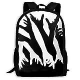 JNMJK High-Capacity Unisex Adult Backpack Impressive Opticals Bookbag Travel Bag Schoolbags Laptop Bag