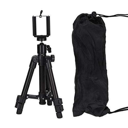Cosiki Soporte para trípode para teléfono, diseño de Cabeza esférica Liviana y Flexible Soporte para trípode portátil Antideslizante, Viajero Estable y Potente para fotógrafos Profesionales