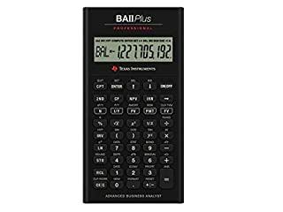 Texas Instruments BA-II Plus Professional (B0001EMLZW) | Amazon price tracker / tracking, Amazon price history charts, Amazon price watches, Amazon price drop alerts