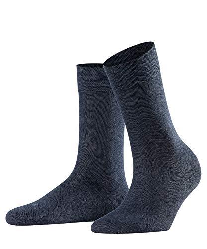 FALKE Damen Socken Sensitive London - 94prozent Baumwolle, 1 Paar, Blau (Dark Navy 6379), Größe: 39-42