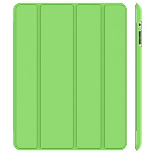 JETech Hülle Kompatibel iPad 4, iPad 3 und iPad 2, Schutzhülle mit Ständer Funktion und Auto Schlaf/Wachen, Grün