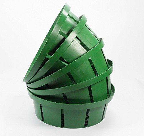 Pflanzschale 10x für Blumenzwiebeln Zwiebeln Pflanzkorb Schale 25cm/23cm 10 Stueck (⌀ 25cm)