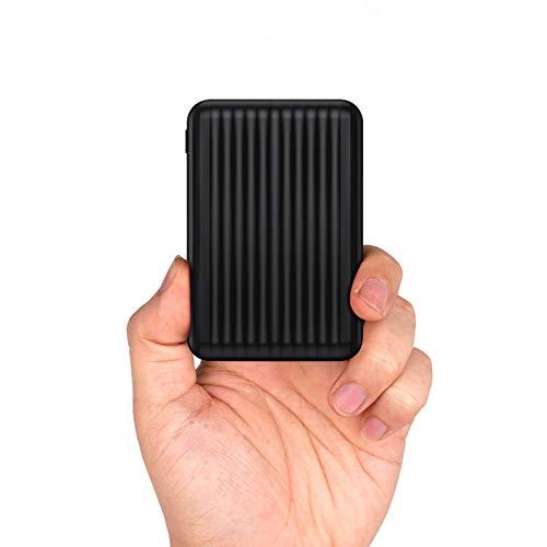 But cHer Bateria Externa 10000mAh Power Bank,Bateria Externa Movil con 2 Entradas (Micro+USB C) y 2 Salidas(1A+2.4A) Cargador Portátil Móvil para iPhone,Samsung,Huawei,Xiaomi,Smartphones y más