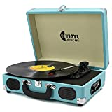 VInYL MUSIC ON Retro Style Record Player with Built-in Speakers, Classic...
