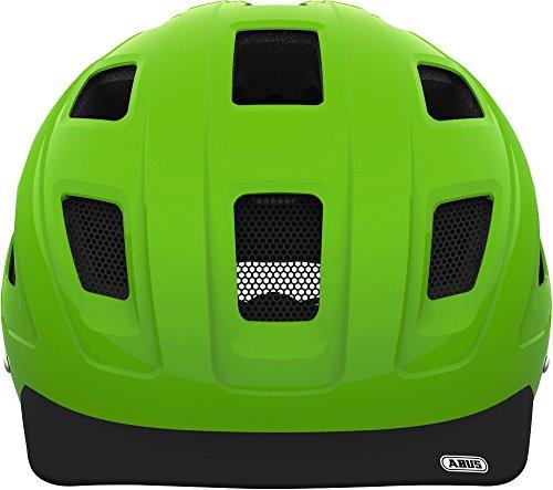 Abus Erwachsene Fahrradhelm Hyban, Green, 52-58 cm - 3