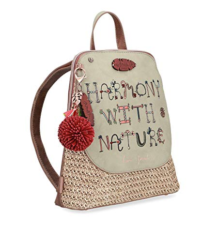 Anekke Backpack Ride Rafia Jungle letters