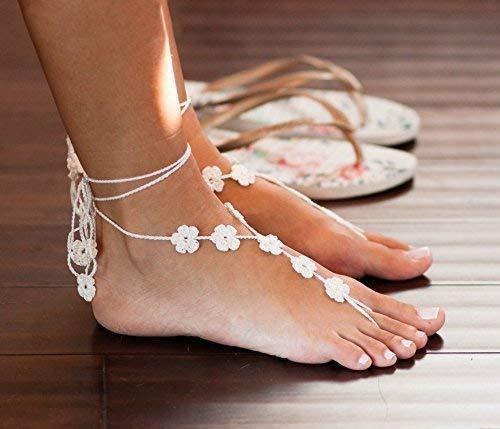 crochet feet jewelry - 8