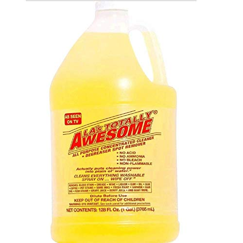 128 Fl Oz Refills, 1 Bottle Original - La's Totally Awesome All Purpose Concentrated Cleaner Degreaser Spot Remover Cleans Everything Washable As Seen on Tv,Pack of 1