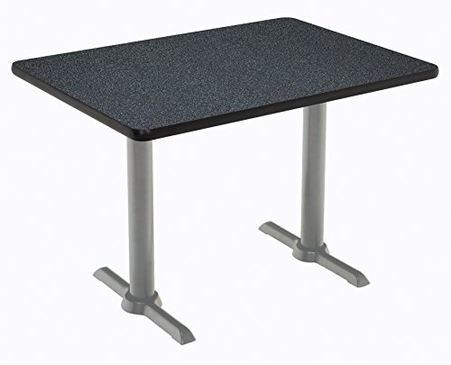 "KFI Seating Mode Multipurpose Table, 41"" H x 30"" W x 60"" D, Graphite Nebula -  KFI Studios, T3060-B2065-SL-GRN-38"