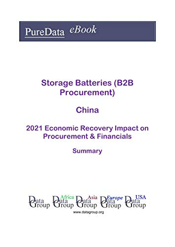 Storage Batteries (B2B Procurement) China Summary: 2021 Economic Recovery Impact on Revenues & Financials (English Edition)