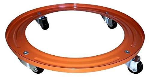 Oko 032111 Soporte butano metálico, Acero, Naranja, 31.2x31.2x5.3 cm