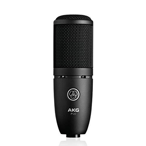 AKGP120 Perception Micrófono Cardioide Vocal, Negro + Behringer U-PHORIA UM2 Equipos de música adicionales Negro
