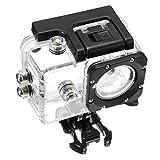 healthwen Accessori per Immersioni subacquee da Equitazione a Conchiglia SJ4000 Accessori Impermeabili per Fotocamera Sportiva SJ4000 Materiale PC Trasparente
