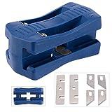 Edge Banding Trimmer, Veneer/Laminate Edge Trimmer Mini Plastic PVC Plywood Melamine Wood Edge Band Cutter, Manual Trimming Woodworking Tool