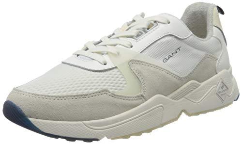 GANT Footwear Herren NICEWILL Sneaker, Weiß (Off White G20), 43 EU